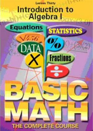Basic Maths: Introduction to Algebra Online DVD Rental