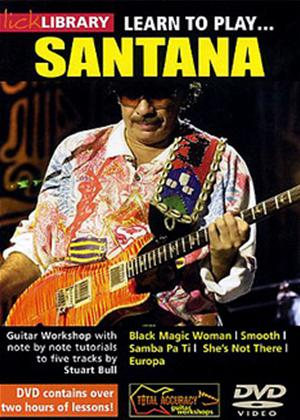 Learn to play Santana Online DVD Rental