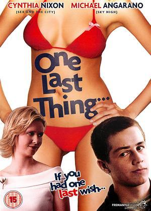 Rent One Last Thing Online DVD Rental