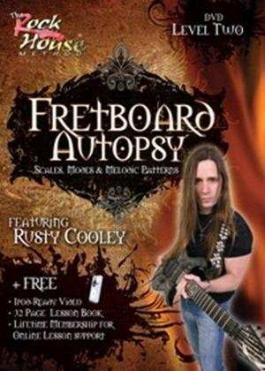 Rent The Rock House Method: Fretboard Autopsy Level Two Online DVD Rental