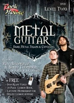 Rent The Rock House Method: Metal Guitar Level Two Online DVD Rental