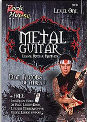 Rent The Rock House Method: Metal Guitar Level One Online DVD Rental