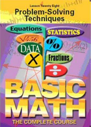 Rent Basic Maths: Problem-Solving Techniques Online DVD Rental
