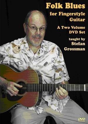 Rent Folk Blues for Fingerstyle Guitar Online DVD Rental