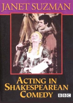 Janet Suzman: Acting in Shakespearean Comedy Online DVD Rental