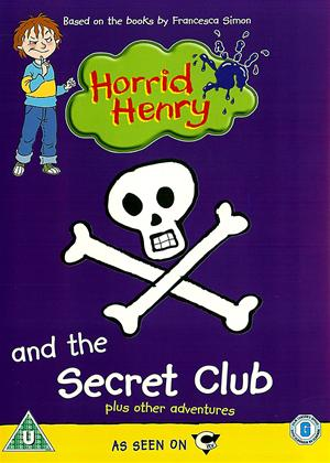 Rent Horrid Henry and the Secret Club Online DVD Rental
