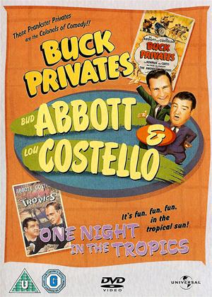 Buck Privates / One Night in the Tropics Online DVD Rental