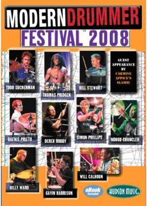 Modern Drummer Festival 2008 Online DVD Rental