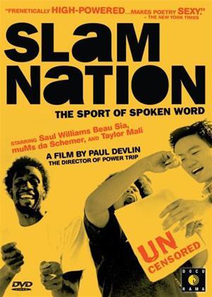 Slam Nation: The Sport of Spoken Word Online DVD Rental