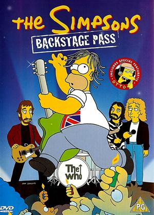 The Simpsons: Backstage Pass Online DVD Rental