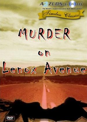 Murder on Lenox Avenue Online DVD Rental