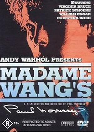 Madame Wang's Online DVD Rental