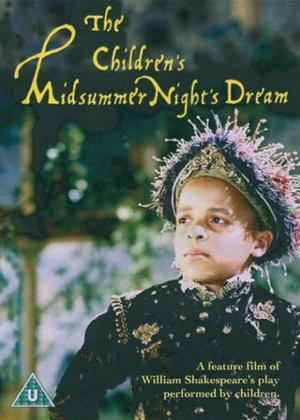 The Children's Midsummer Night's Dream Online DVD Rental