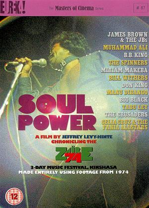 Soul Power Online DVD Rental