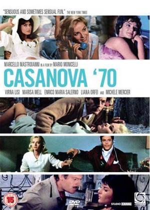 Rent Cassanova '70 Online DVD Rental