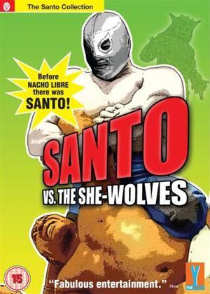 Santo vs the She-Wolves Online DVD Rental