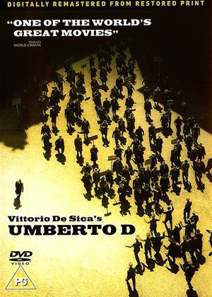 Umberto D Online DVD Rental
