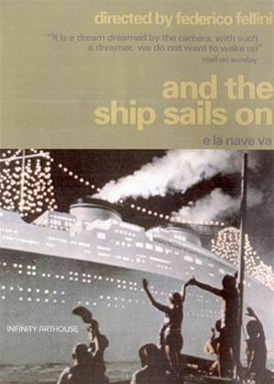 And the Ship Sails On Online DVD Rental
