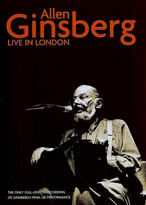 Allen Ginsberg: Live in London Online DVD Rental
