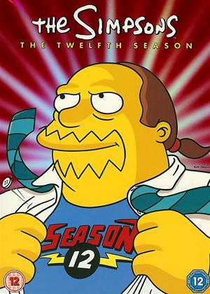 The Simpsons: Series 12 Online DVD Rental