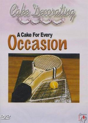 Cake Decorating: A Cake for Every Occasion Online DVD Rental