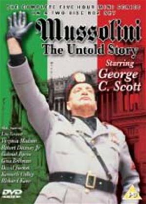 Mussolini: The Untold Story Online DVD Rental