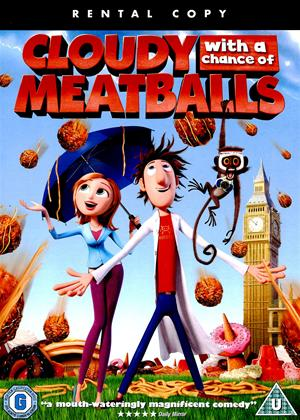 Cloudy with a Chance of Meatballs Online DVD Rental