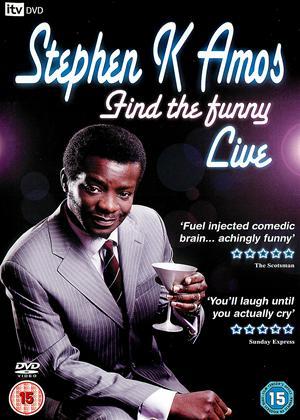 Stephen K Amos: Find the Funny Online DVD Rental