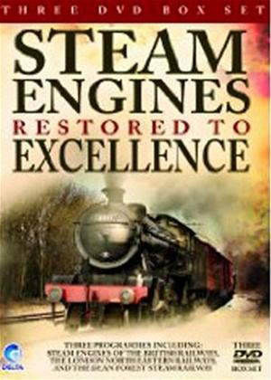 Steam Trains Restored to Excellence Online DVD Rental