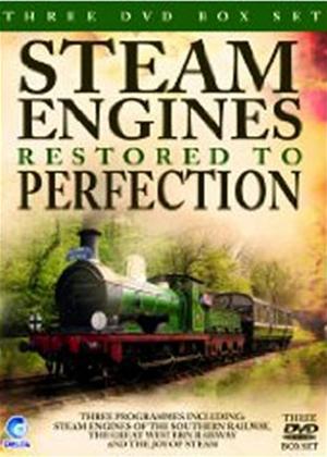 Rent Steam Trains Restored to Perfection Online DVD Rental