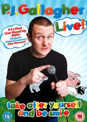 P J Gallagher Live: Take After Yourself and Be Smile Online DVD Rental