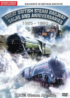 Rent Great British Steam Railway Galas and Anniversaries: 1925-1980 Online DVD Rental