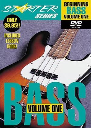 Rent Starter Series: Beginning Bass: Vol.1 Online DVD Rental