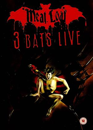 Meat Loaf: 3 Bats Live Online DVD Rental