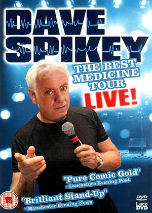 Rent Dave Spikey: Best Medicine Tour Live Online DVD Rental