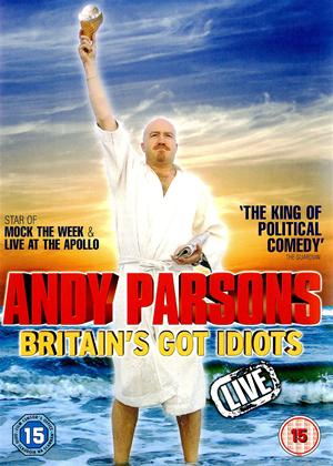 Andy Parsons: Britain's Got Idiots Live Online DVD Rental