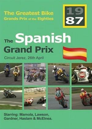 Rent Great Bike GPs of the 80s: Spain 1987 Online DVD Rental