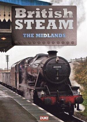 Rent British Steam in the Midlands Steam Online DVD Rental
