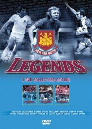 Rent West Ham United: The Legends Online DVD Rental