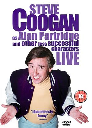Steve Coogan as Alan Partridge Live Online DVD Rental