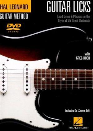 Guitar Licks Online DVD Rental