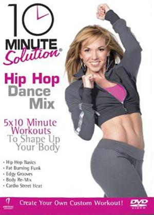 Rent 10 Minute Solution: Hip Hop Dance Mix Online DVD Rental