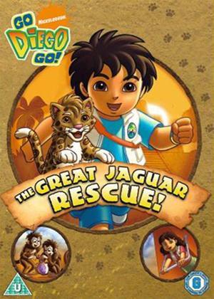 Go Diego Go: The Great Jaguar Rescue Online DVD Rental