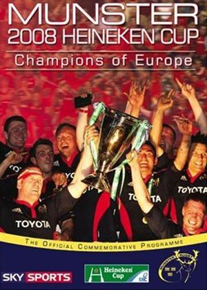 Munster: Champions of Europe 2008 Online DVD Rental
