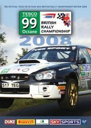 Rent British Rally Championship Review 2008 Online DVD Rental