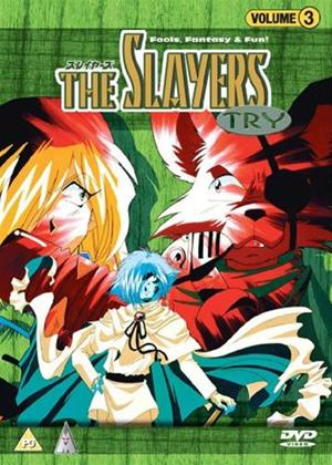 Rent The Slayers Try: Vol.3 Online DVD Rental
