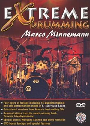 Rent Marco Minnemann: Extreme Drumming Online DVD Rental