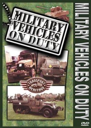 Rent Military Vehicles on Duty Online DVD Rental