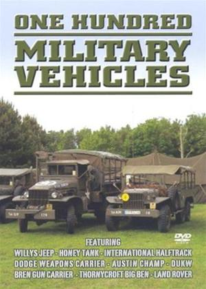One Hundred Military Vehicles Online DVD Rental