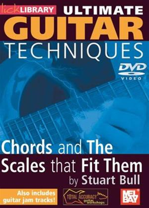 Rent Ultimate Guitar Techniques: Chords and the Scales That Fit Them Online DVD Rental